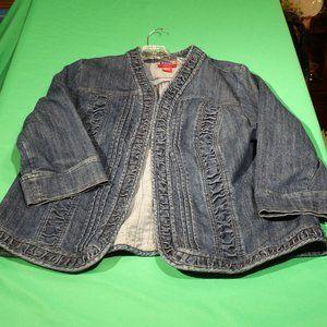 Westport Denim Plus 18/20W Denim Jacket